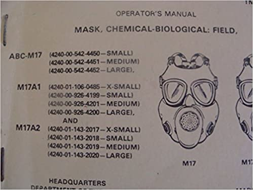 TM 3-4240-279-10 (1983) MASK, CHEMICAL-BIOLOGICAL: FIELD M17
