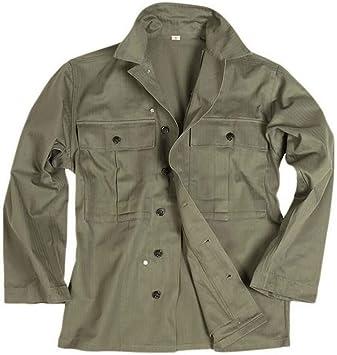 Mil-Tec US HBT Camisa verde oliva (Repro): Amazon.es: Deportes y aire libre