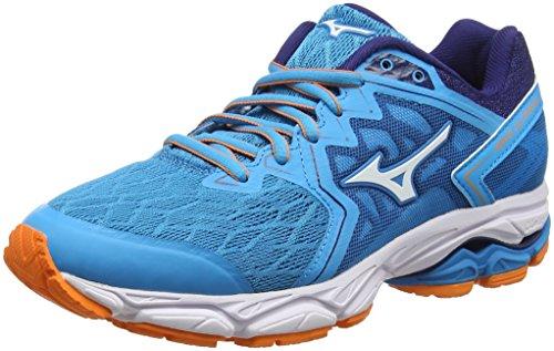Mizuno Wave Ultima 10, Zapatillas de Running para Mujer Azul (Hawaiianocean/White/Birdofparadise 01)