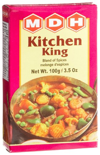 MDH Kitchen King (Blend of Spices), 3.5-Ounce Boxes (Pack of 10) by MDH