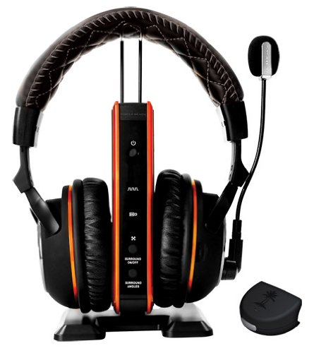 Turtle Beach Call of Duty: Black Ops II Tango Programmable Wireless Dolby Surround Sound Gaming Headset