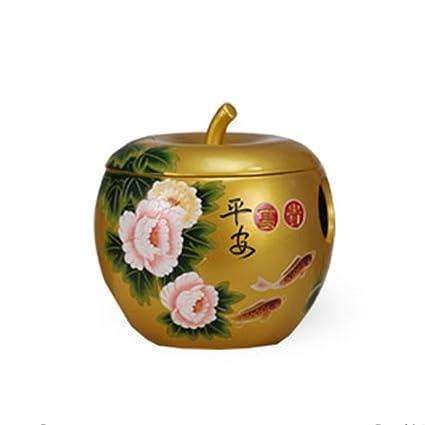 HMGY Caja de Tejido Creativo de cerámica Pintada a Mano, Caja de pañuelos de Papel
