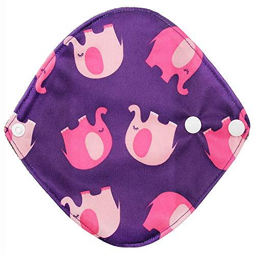 Elevin(TM) Reusable Bamboo Cloth Washable Menstrual Pad Mama Sanitary Towel Pad (I) by Elevin(TM) _ Health & Beauty (Image #1)