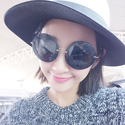 Soleil X777 élégant Couleur de Lunettes de Peach B Sunglasses Lunettes Rondes Love Lady Heart Lunettes Couleur des A cFq6wzw