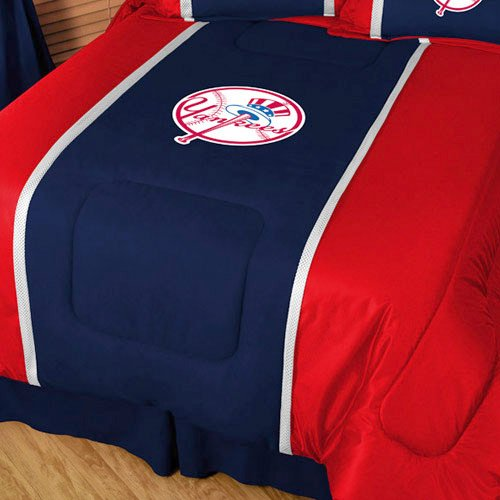 MLB New York Yankees MVP Comforter Twin (New York Yankees Comforter)