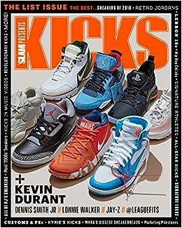 cbac1594314 Slam Presents Kicks Magazine The List Issue The Best Sneakers of 2018  Slam  Magazine  Amazon.com  Books