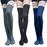 Best AM Landen Black Socks - AM Landen Medium 3 pairs Black Gray Blue Review