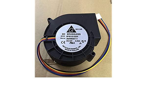 BFB1012UH 12V 6A High Speed Turbine Cooling 4 Wire Fan 6 Months Warranty