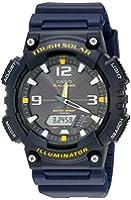 Casio Men's AQ-S810W-2AVCF Sport Solar-Powered Blue Watch
