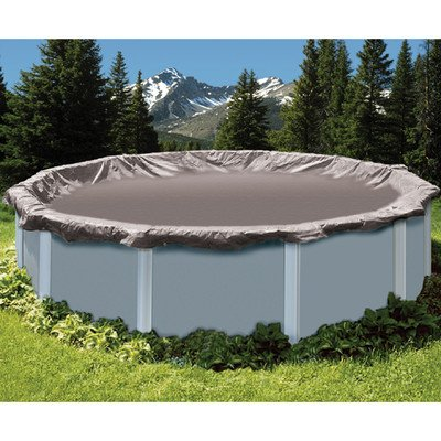 Super Deluxe Oval Winter Cover Size: 25' W x 45' L (Pool Deluxe Oval)