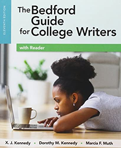 amazon com the bedford guide for college writers with reader rh amazon com bedford guide for college writers ebook bedford guide for college writers 11th ed