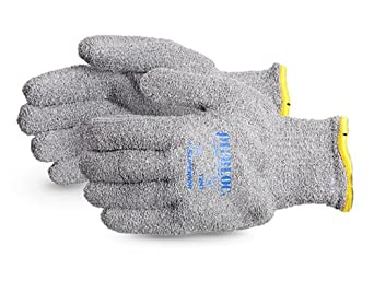 Superior T2NT Oilbloc Cotton Terry Knit Glove with Interior PVC Liner, Work, X-Large (Pack of 1 Dozen)