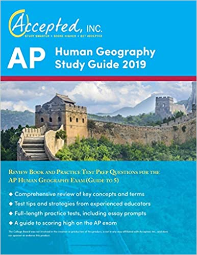 AP Human Geography Study Guide 2019 Review Book And