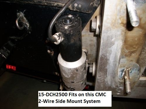 CMC Jack Plate Motor Kit DCH2500 2 Wire Motor Fits Side Mount System by East Lake Marine Electric