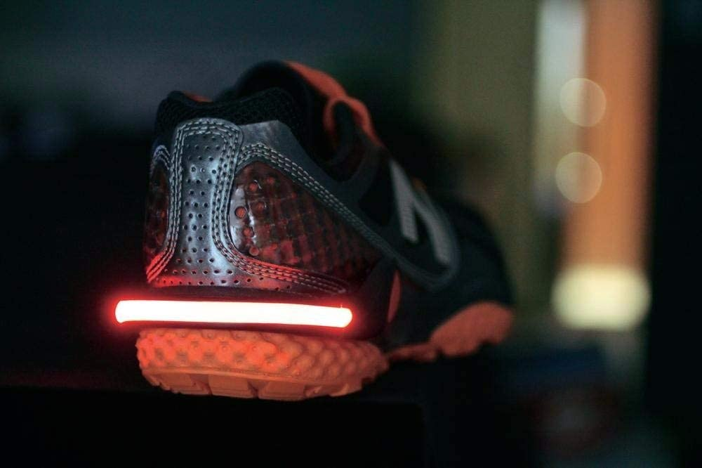 RBR Clip Zapatillas con Luz LED Reflectante 3M Scothlite CE ...