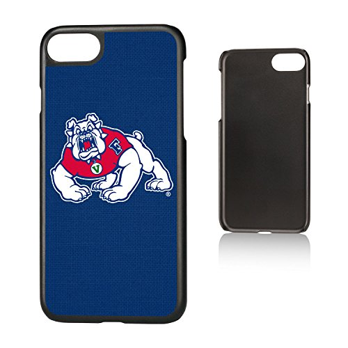 Keyscaper KSLMI7-0FRS-SOLID1 Fresno State Bulldogs iPhone 8/7 Slim Case with FS Solid Design (Apple Fresno One)