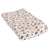 Trend Lab Friendly Forest Deluxe Flannel Changing Pad Cover