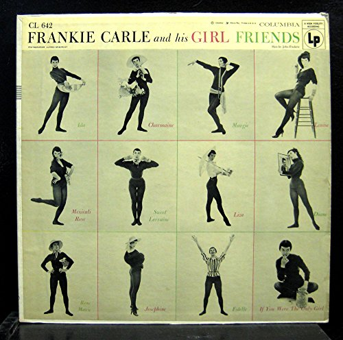 FRANKIE CARLE & HIS GIRL FRIENDS vinyl record