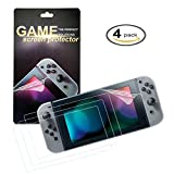 Screen Protector for Nintendo Switch - Anti-Bubble Film,0.125mm - 4 pcs