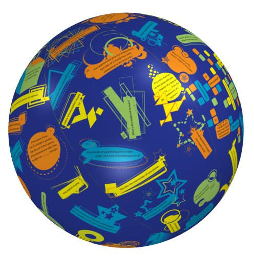 American Educational Vinyl Geometry 1 Clever Catch Ball, 24