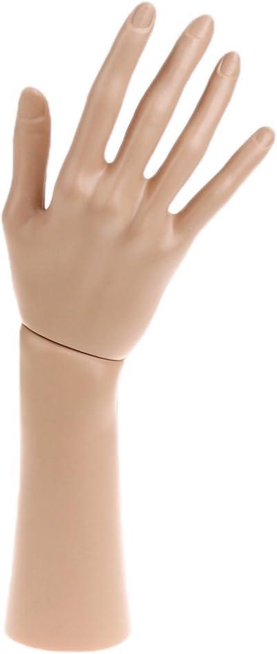 Moligh doll Complexion 23Cmx23Cm pour Le Mannequin Bague de de Doigt de Main Bracelet Le Bracelet Le Pr/éSentoir de Bijoux Le Rack