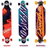 Physionics Longboard im Design Downhill/ im Design Galaxy/ im Design Invasion (Invasion)