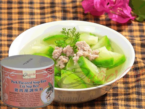 Quoc Viet Foods Pork Flavored Soup Base 10oz Cot Sup Heo