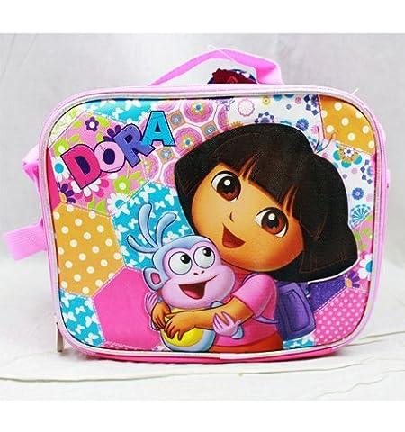 1 X Lunch Bag - Dora the Explorer - w/ Boots - Dora Lunch Bag