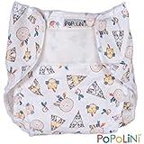 Popolini cubrepañales popowrap Tipi para pañales de tela tamaño XL > 14 kg