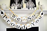 "[USA-SALES] Graduation Banner, ""We are so Proud of You"", Graduation Party Decorations, by USA-SALES offers"