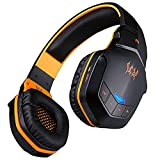 Lepfun Each B3505 Wireless Bluetooth 4.1 Stereo Video Game Headset with NFC Microphone for PC,Laptop, iPad,iPhone,Android Smart Cell Phone and Other Bluetooth Devices