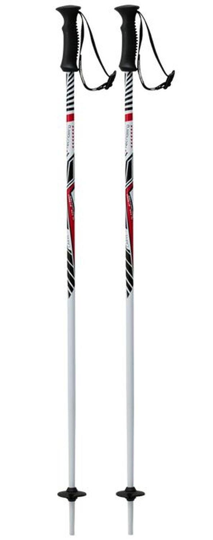 Tecno Pro Kinder Ski-Stock Skistock XT Carve Jr wei/ß//rot//schwarz