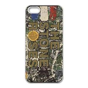 The Stone Roses 006 funda iPhone 5 5S Cubierta blanca del teléfono celular de la cubierta del caso funda EVAXLKNBC13174