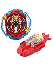 BALALALA Beyblade Burst Turbo Set, Gyro Burst Tol Set, 4D Bayblade speelgoed cadeau + launcher met box set