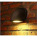 Wall Light Wood Decoration Steampunk Retro Style Dimmable Pipe Led Downlight Plug-In Light Fixture 3W / 7W Spotlight (3W)