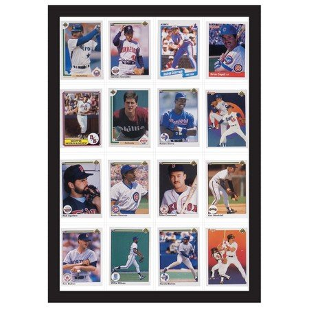 New 16 Baseball Card Display Case TM