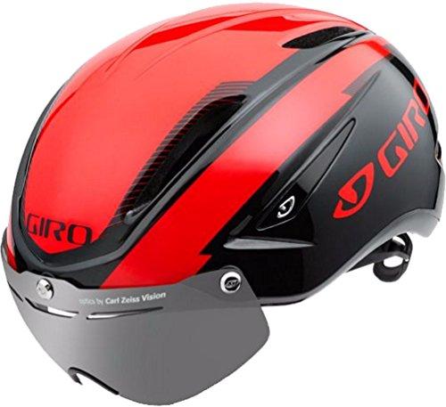 Giro Air Attack Shield Helmet Bright Red / Black L