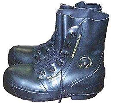Black Mickey Mouse Boots - New Military Surplus (7 Wide)
