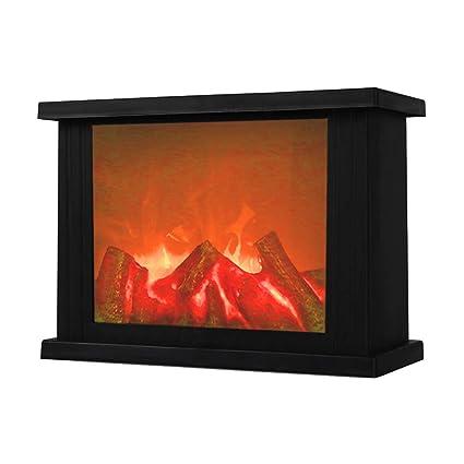 Amazon Com Fireplace Lanterns Decorative Lanterns Flameless Led