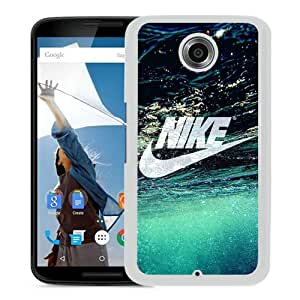Newest And Fashionable Google Nexus 6 Case Designed With Nike Just do it 4 White Google Nexus 6 Screen Cover High Quality Cover Case