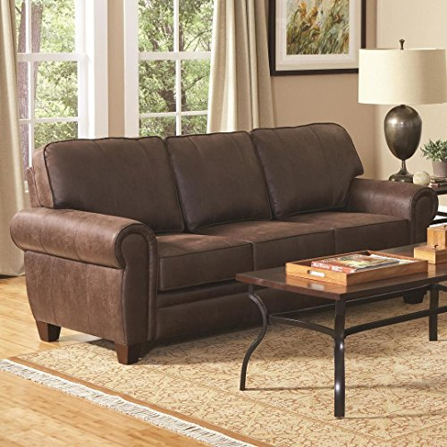 Allingham Elegant Sofa Brown (Rustic Sofa)