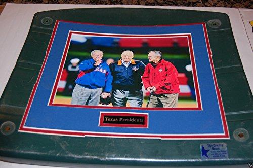 Texas Rangers George Bush 41 & 43 & Ryan Ballpark Arlington Stadium Seat Bottom