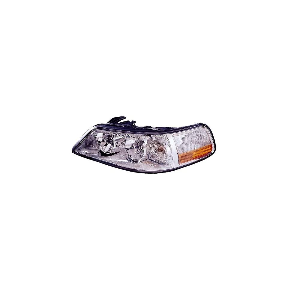 Lincoln Town Car 03 04 Headlight Assembly Lh US Driver Side without HID Automotive