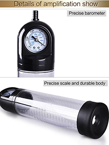 Edonsor growth Pump extender Beginner?Powerful?Vacuum?Pump?Tool? Male Personal Care Manual Pump Air Vacuum Extender Enlargement Performance enhancers Assisting