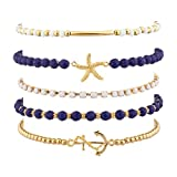 Lux-Accessories-Navy-Nautical-Starfish-Anchor-Arm-Candy-Set-5PC