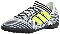 Adidas Performance Boys' Nemeziz Tango 17.3 Tf J, Whitesolar Yellowblack, Little Kid (4-8 Years) 1.5 Medium Us Little Kid