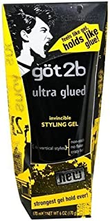 product image for Got2b Ultra Glued Invincible Styling Gel, 6-Ounce by Got2b