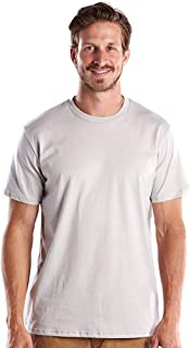 product image for US Blanks Men's 4.3 Oz. Short-Sleeve Crewneck XL Silver