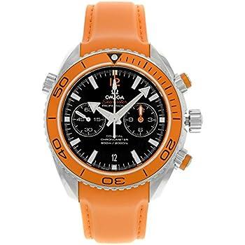 Amazon Com Omega Planet Ocean Chronograph Orange Rubber