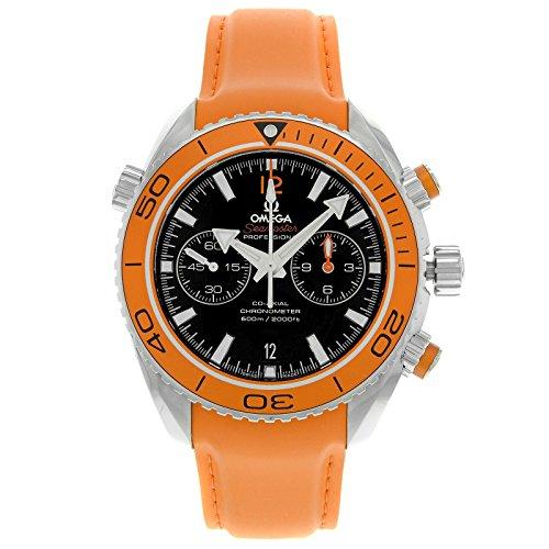 hronograph Orange Rubber Strap Mens Watch 23232465101001 ()